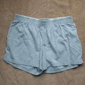 Champion grey shorts size small